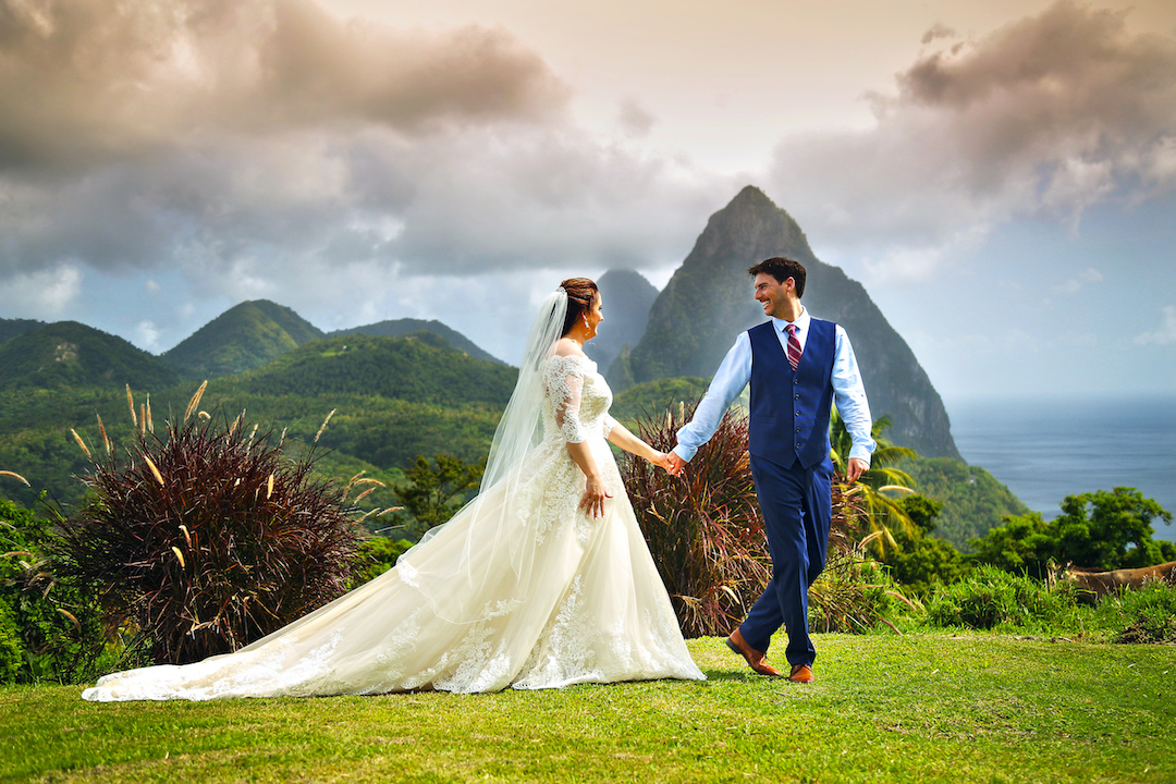 island sophistication wedding in