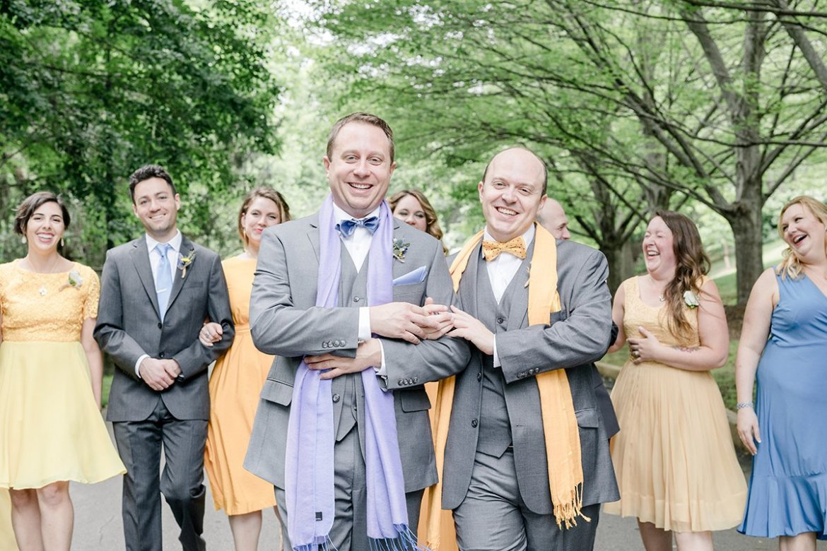 An Ally's Guide to hiring LGBTQ Friendly Wedding Vendors | Bridechilla Blog | Photo by Ariel Kaitlin Photography