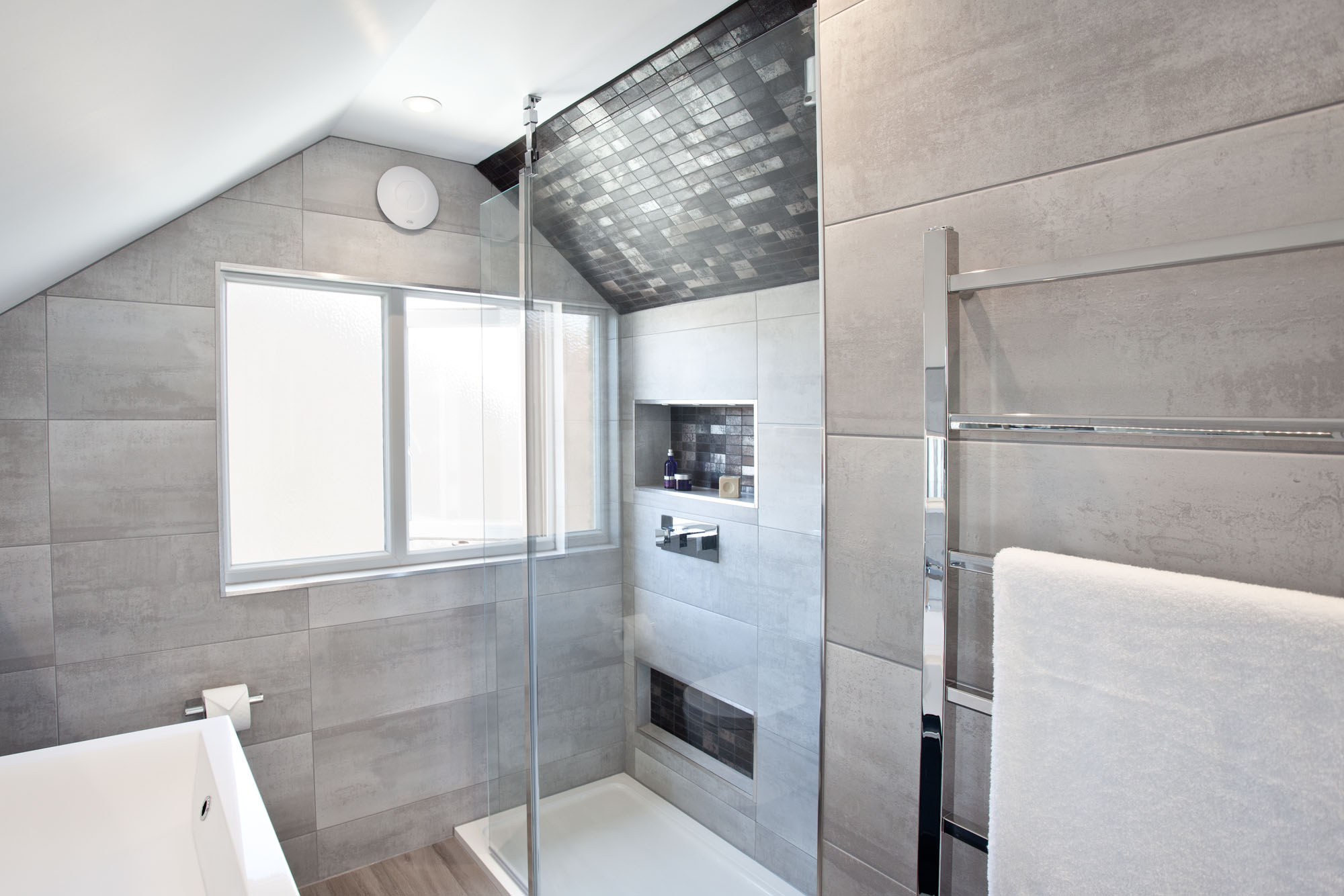 Loft Ensuite With Large Shower —Hove