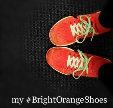 My BrightOrangeShoes