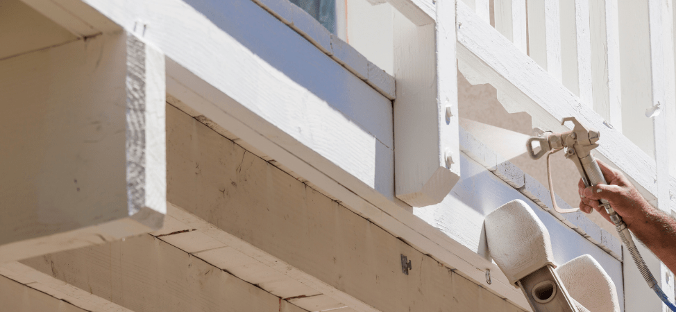 Exterior Home Painting – Brush vs. Spray