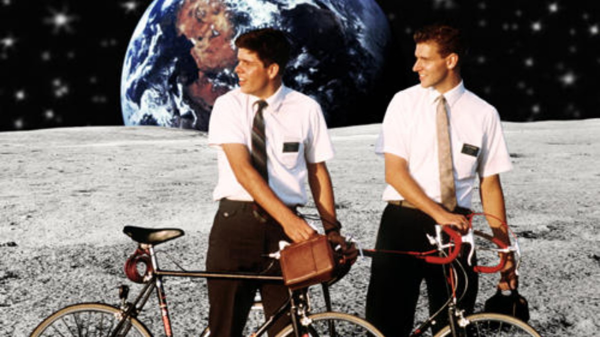 Image result for mormons on the moon