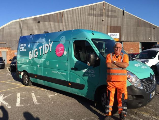 big tidy van