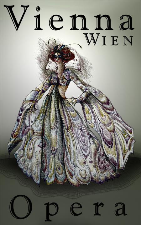 Masked entertainment at the Vienna Opera! @Heikenwaelder Hugo, Austria