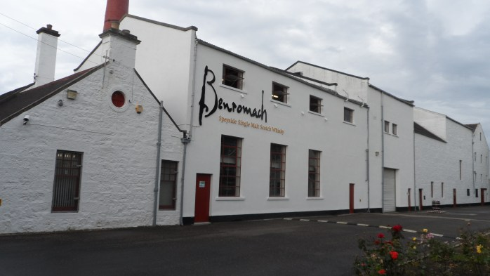 Benromach Distillery & Malt Whiskey Centre.