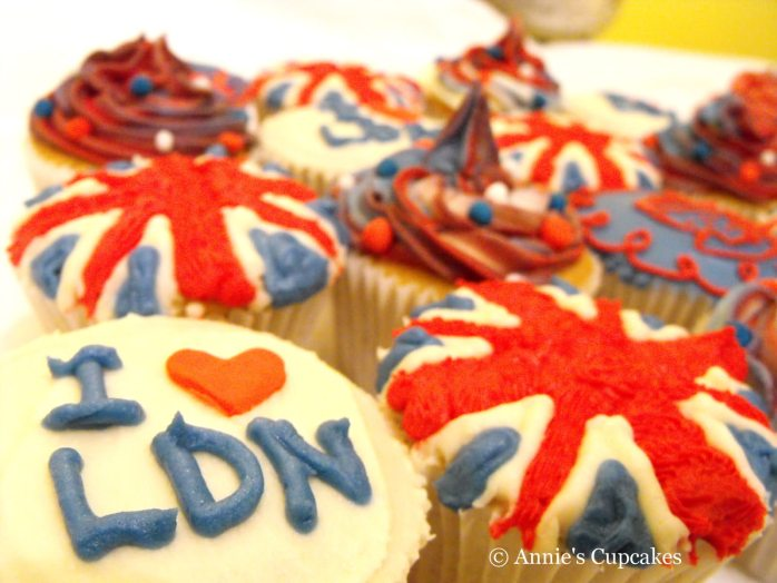 I Love London! @ Annie's Cupcakes