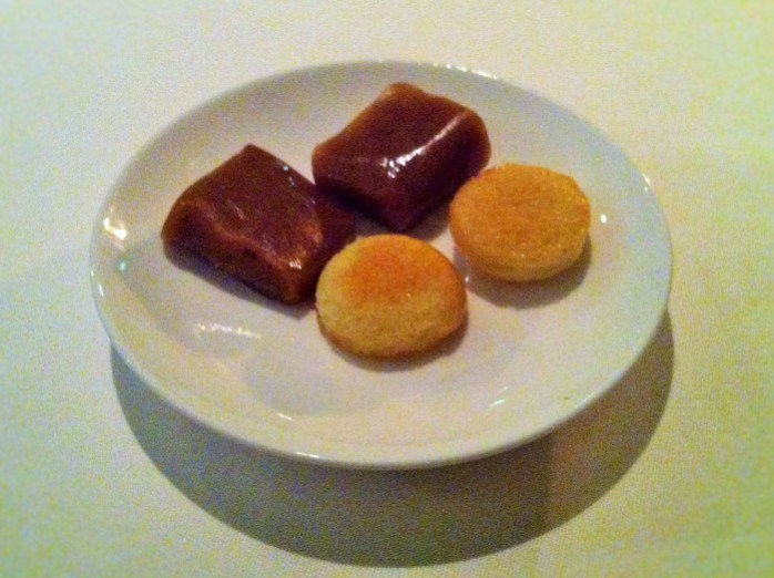 A plate of Petit Fours!