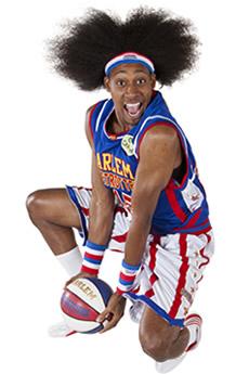 """""""Moose"""". The Harlem Globetrotters & Basketball."""