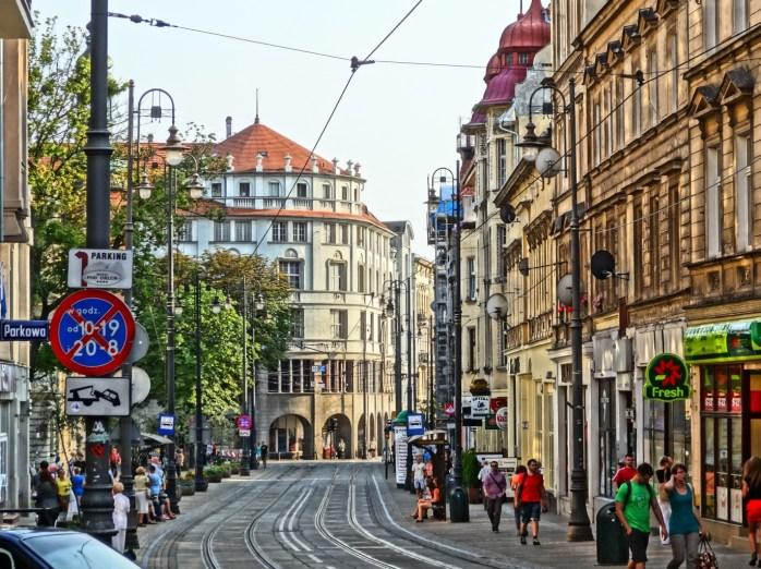 Economic prosperity in Bydgoszcz.