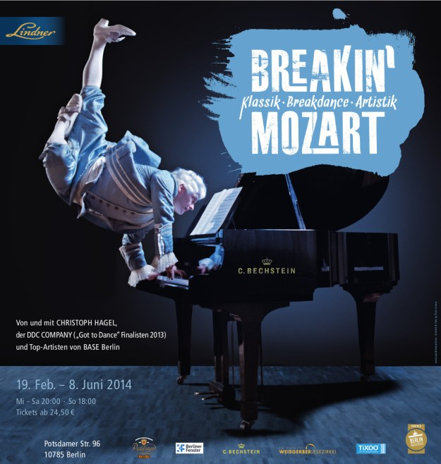 Breakin' Mozart Artwork. Last show. June 8th.