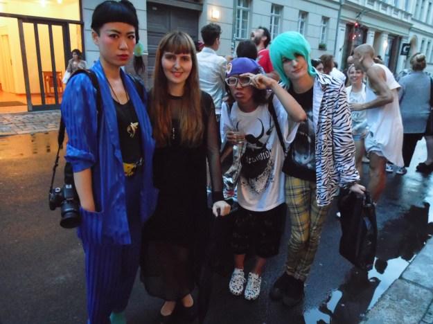The Fashion Set at Superficial. Berlin Fashion Week
