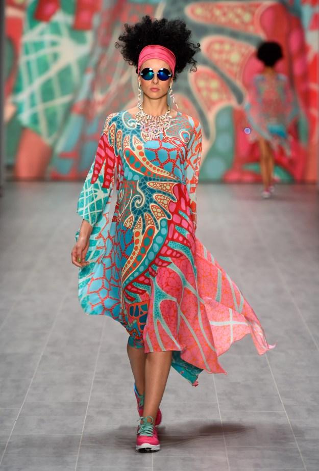 Miranda Konstantinidou Show - Mercedes-Benz Fashion Week Spring/Summer 2015.