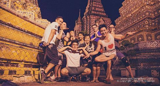 The Bangkok Vanguards Team. Photo@ Bangkok Vanguards