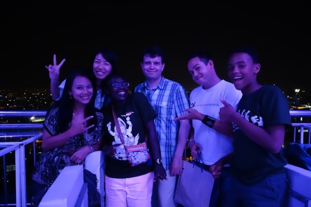 A happy time in Bangkok with the Bangkok Vanguards team!