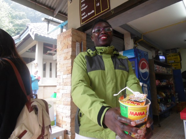 Look! Thai pot noodles. You can have some too!