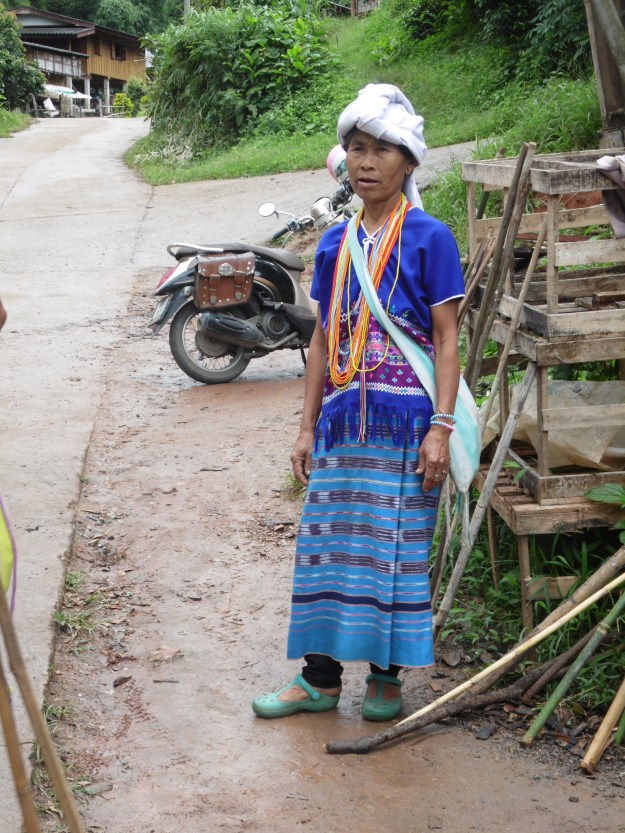 One of the Hmong and Karen hilltribe ladies.