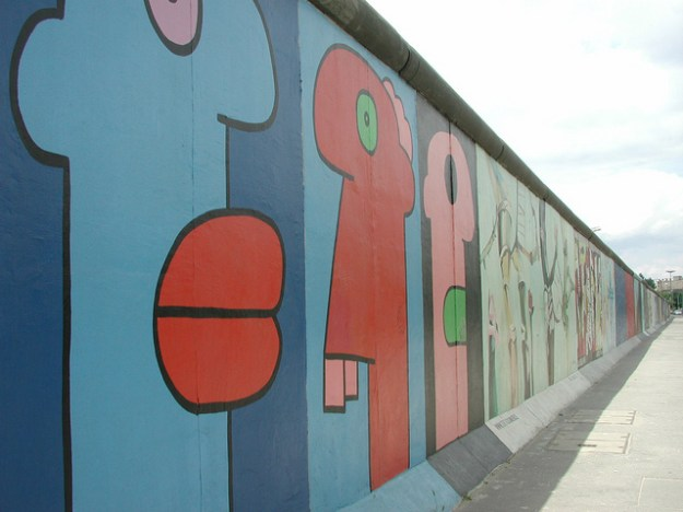 East End Gallery: A Part of the Berlin Wall.