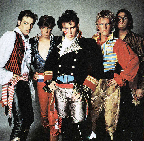 Adam and the Ants in 1981.