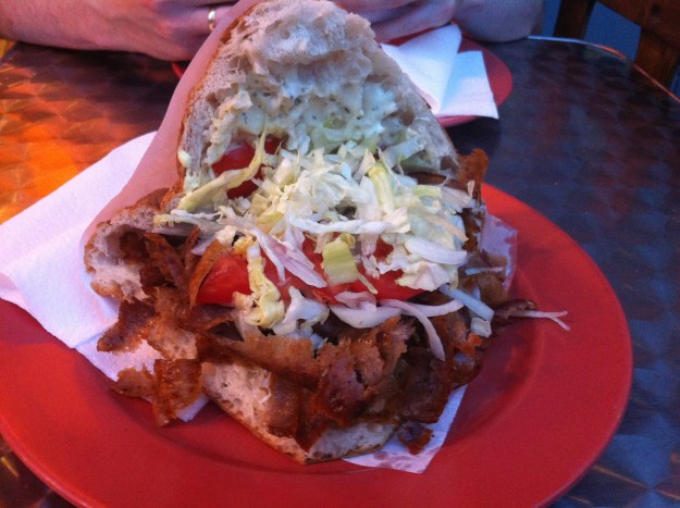 That very famous, most popular, Berlin speciality: The Döner Kebap!