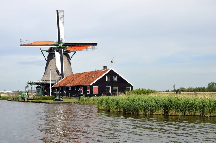 One of the eight (8) windmills in Amsterdam!