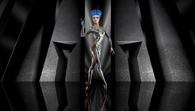 Queen Nefertiti of Egypt.