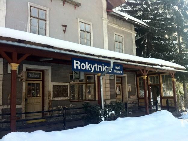 Rokytnice nad Jizerou. Not on the international jet-set route!