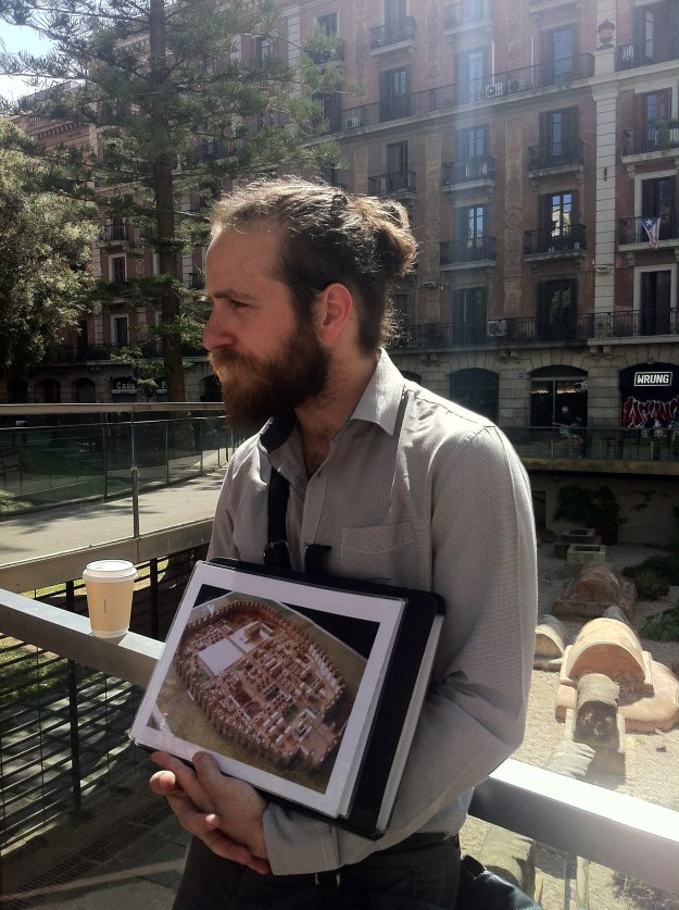 Biel - our guide in Barcelona.