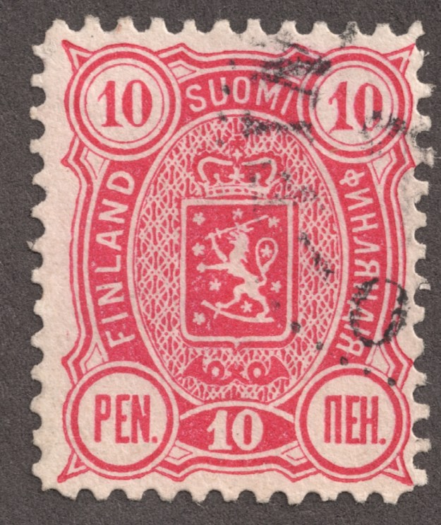 A Finland stamp.