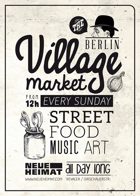 Neue Heimat - street food, music and art in Berlin.