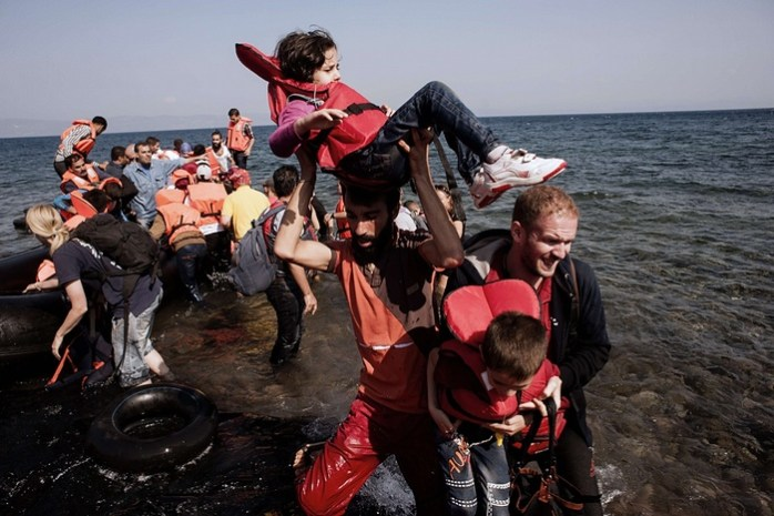 Greece - #Refugeesarewelcome.