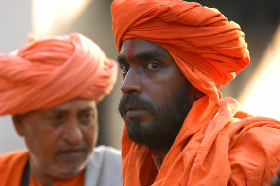 Local Indian men, India.