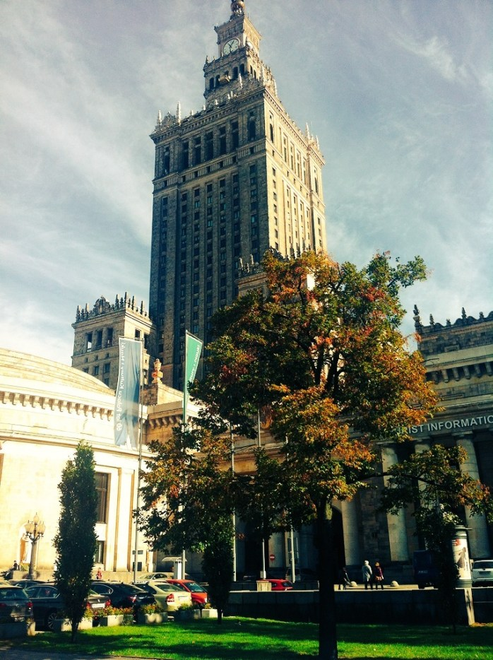 The Palace of Culture & Science in Warsaw, Poland.