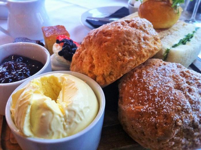 Afternoon Tea at the Avon Gorge Hotel, Bristol.