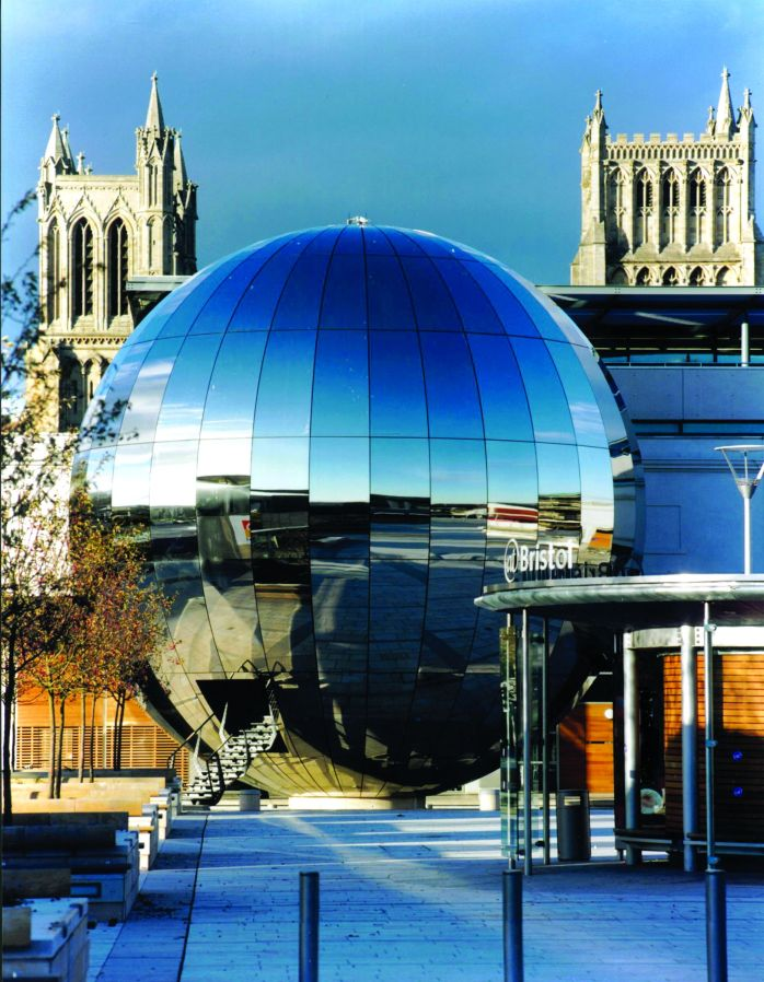 At Bristol Planetarium & Bristol Cathedral. @Bristol