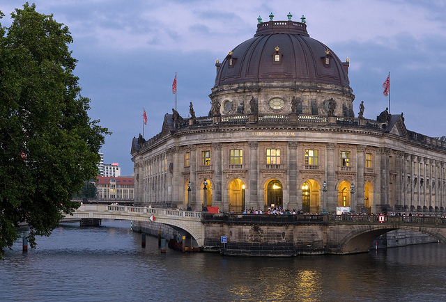 The Museumsinsel or Museum Island © visitBerlin - Wolfgang Scholvien