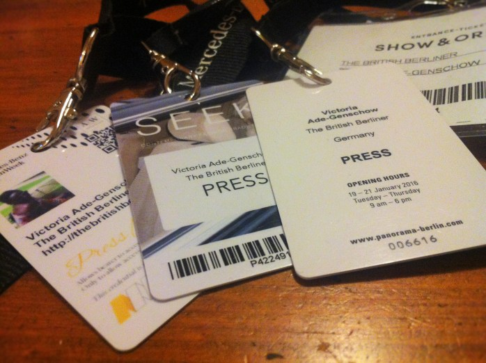 Press documentation for Mercedes-Benz Fashion Week - Autumn/Winter 2016.