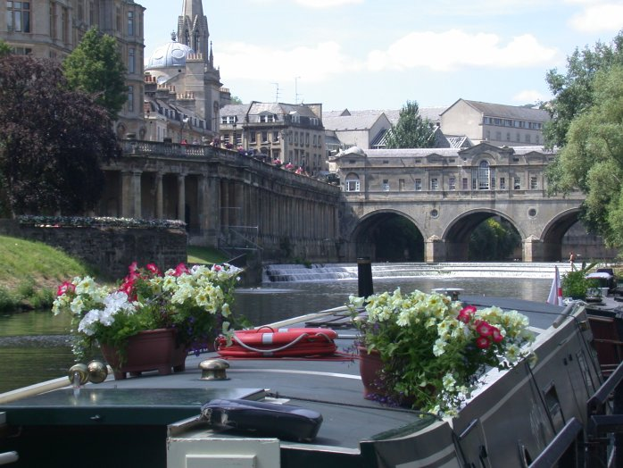 Pulteney Bridge in Bath!