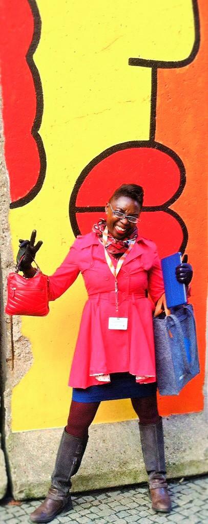 Me at the Berlin International Film Festival aka the Berlinale!