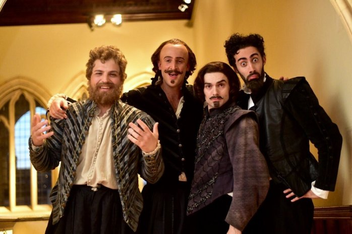 "The hilarious chaps from ""Horrible Histories!"""