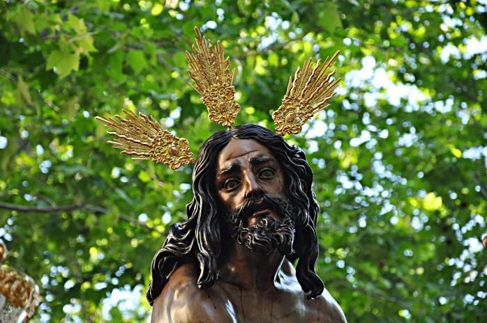 Jesus at Easter. In Seville.