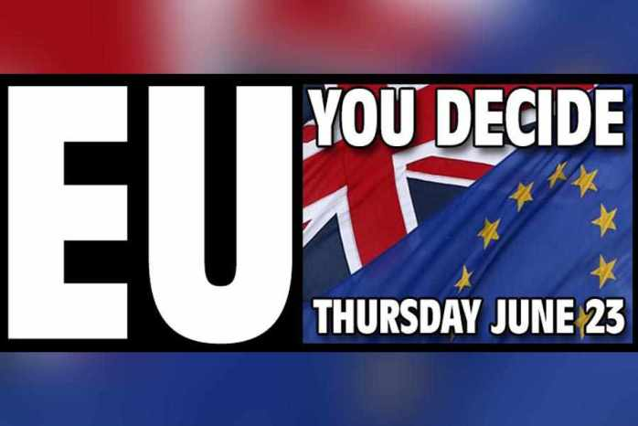 BREXIT: The UK's EU referendum - Real facts you should know!