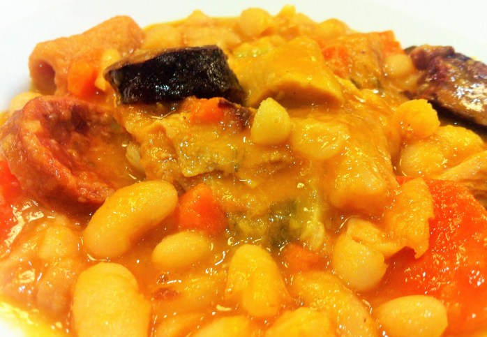 Tripas à Moda do Porto - one of Porto's most famous dishes. A meal made from tripe (the stomach lining of a cow), white beans, tomatoes and chouriço!