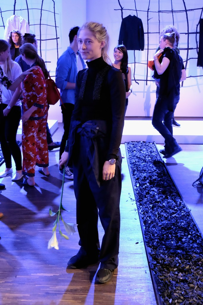 Designer Nathini van der Meer at Nathini van der Meer - Mercedes-Benz Fashion Week Berlin Spring/Summer 2017 ©Philip Schulte/Getty Images for IMG