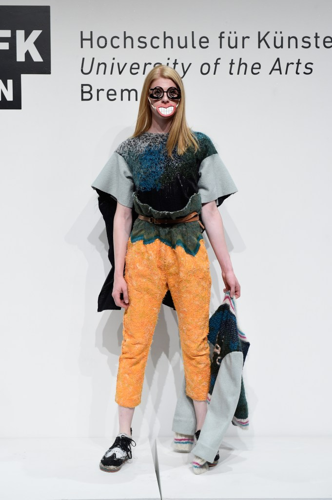 HFK Bremen Acht Graduate Show & Exhibition. Mercedes-Benz Fashion Week Berlin Spring/Summer 2017 ©Victor Boyko/Getty Images for IMG