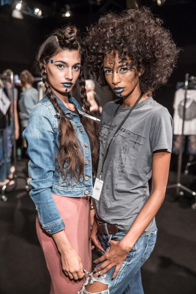 Backstage Mercedes-Benz Fashion Week Berlin SPRING/SUMMER 2017 ©Nass / Brauer