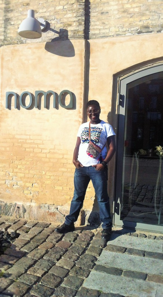 Myself at NOMA - the number 1 best restaurant in the world!