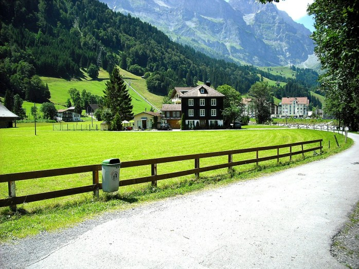 Switzerland is enormously clean, tidy, and orderly.