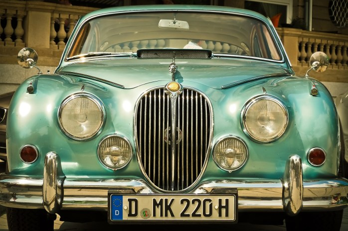 Luxembourg is expensive. And so is this beautiful Jaguar car!
