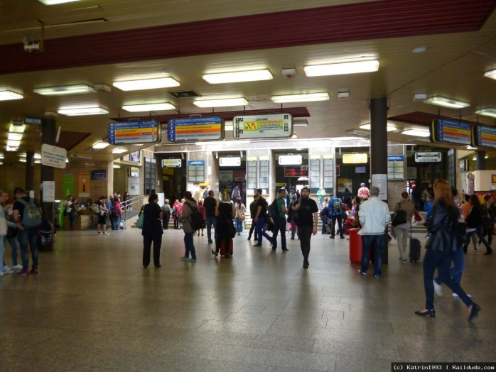 In my opinion the Bratislava hlavná stanica‎ - Bratislava Main Train Station - is a national disgrace! ©rail.cc