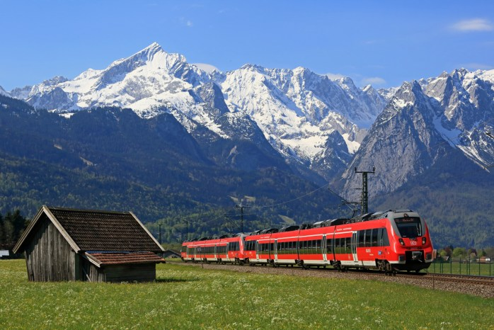 The best way to travel through Europe is by train!